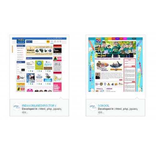 Webdesign and Development