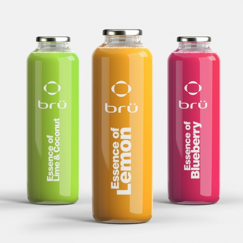 Branding concept for beverage company